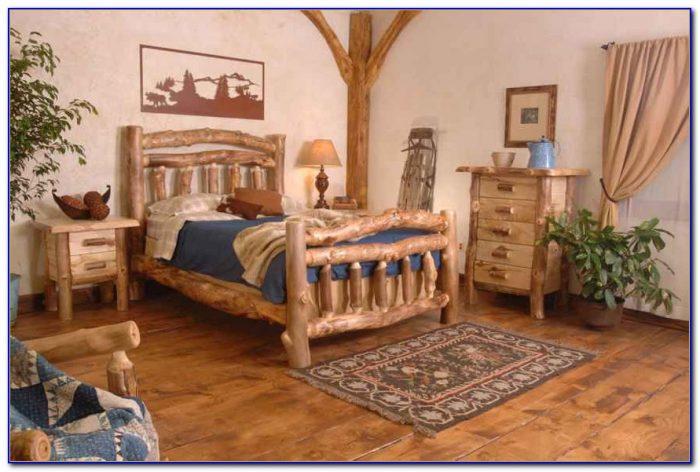 Log Cabin Style Bedroom Set