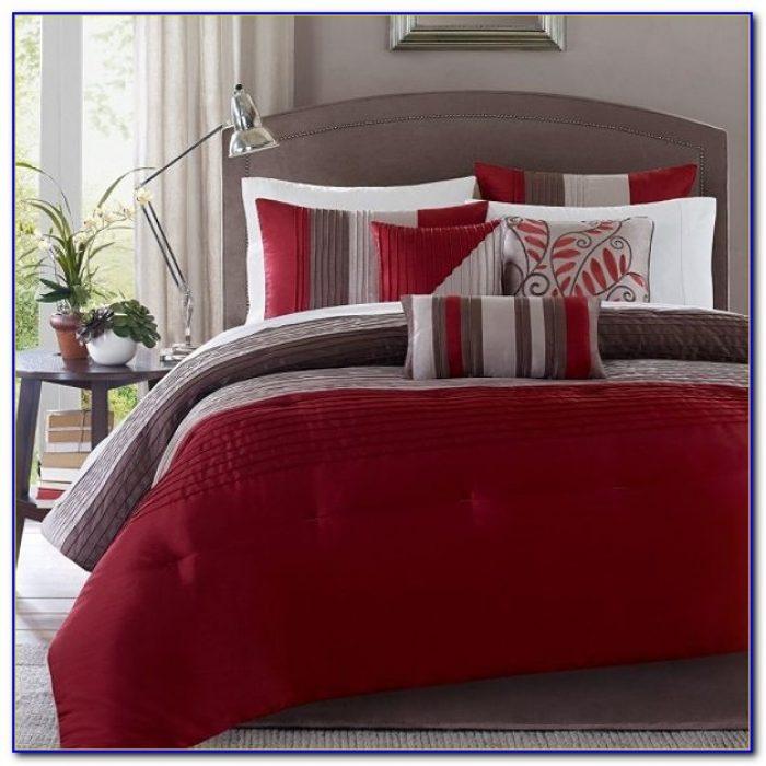 Red Queen Bed Comforter Sets