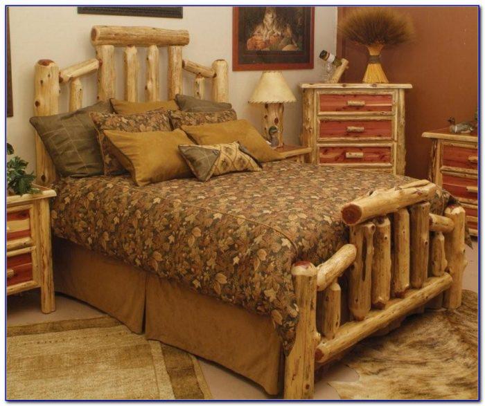 Rustic Log Furniture Bedroom Sets