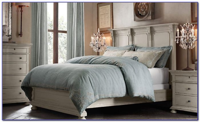 Used Restoration Hardware Bedroom Set