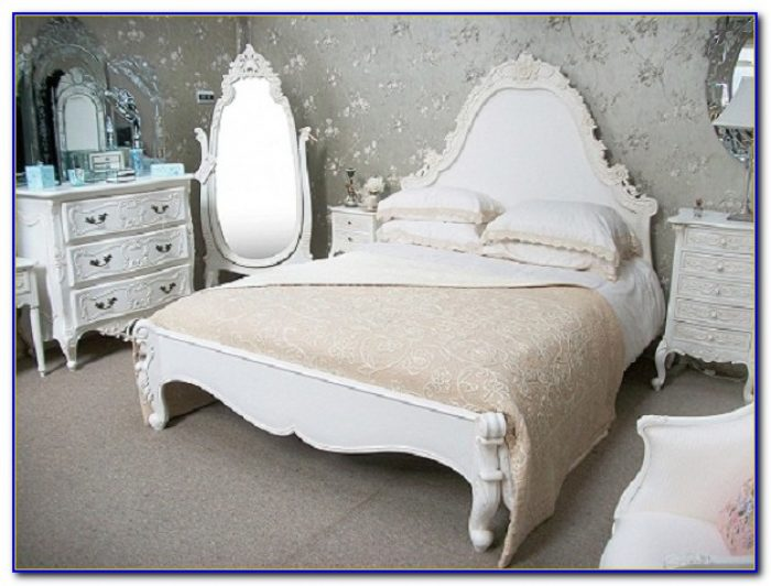 Used White French Provincial Bedroom Furniture