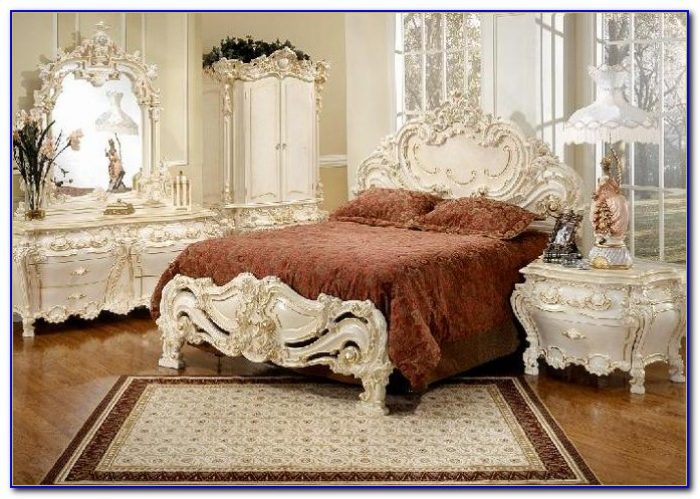 Vintage Dixie French Provincial Bedroom Furniture