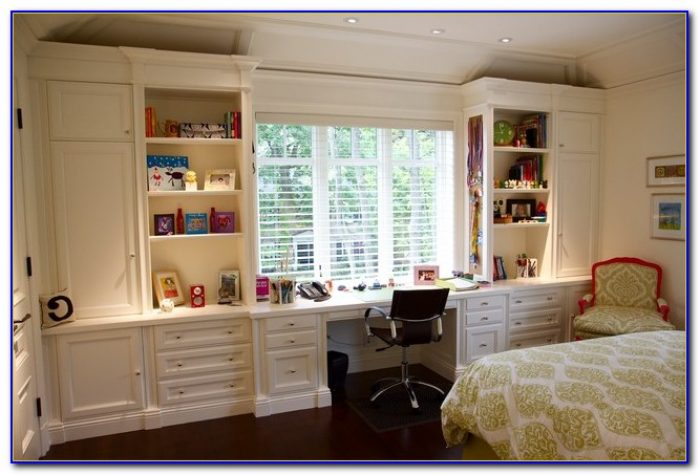 Wall Shelving Unit For Bedroom
