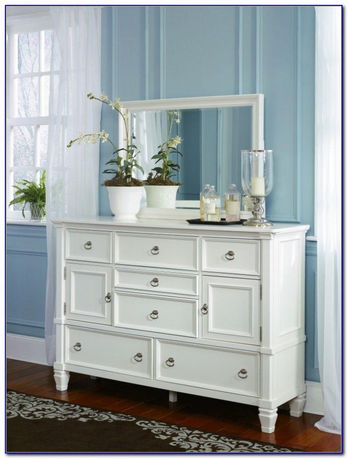 White Dresser With Mirror Australia