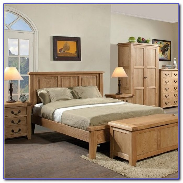 White Oak Bedroom Furniture Sets