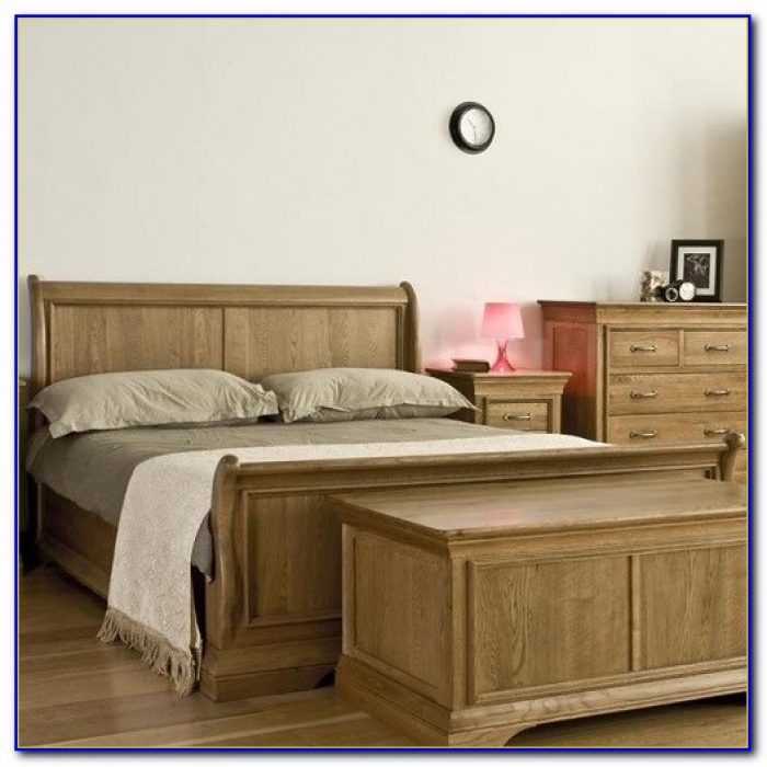 White Stained Oak Bedroom Furniture