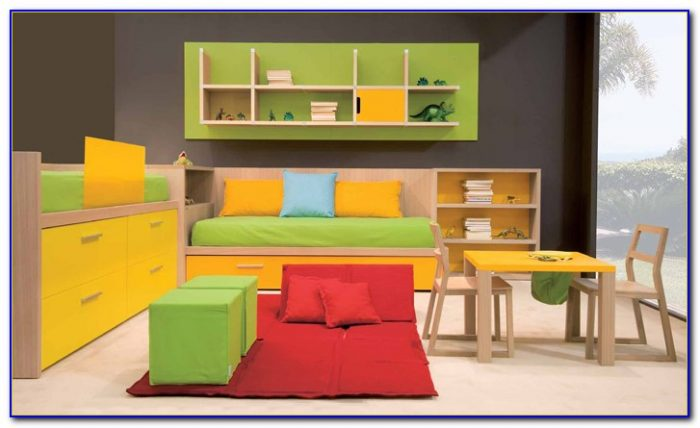Boys Bedroom Set With Desk