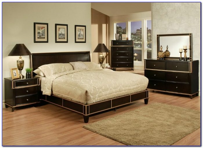 California King Bedroom Set Furniture