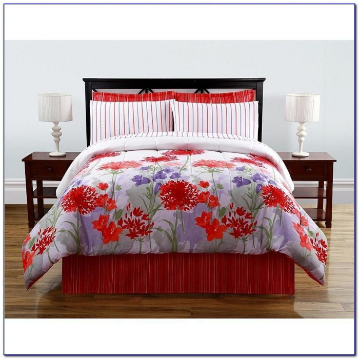 Complete Bedroom Comforter Sets With Curtains