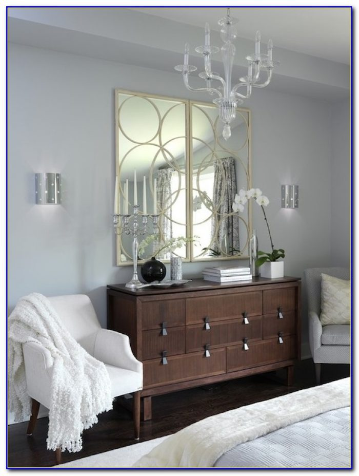Decorating A Grey Painted Bedroom