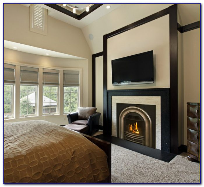 Gas Log Fireplace In Bedroom