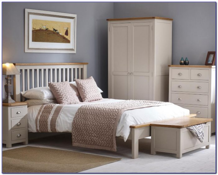 Grey Coloured Bedroom Furniture