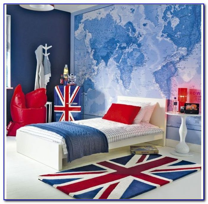 London Scene Wallpaper For Bedrooms