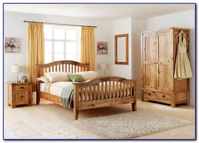 Rustic Oak Bedroom Sets