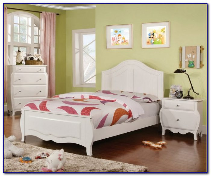 Solid Wood White Bedroom Sets
