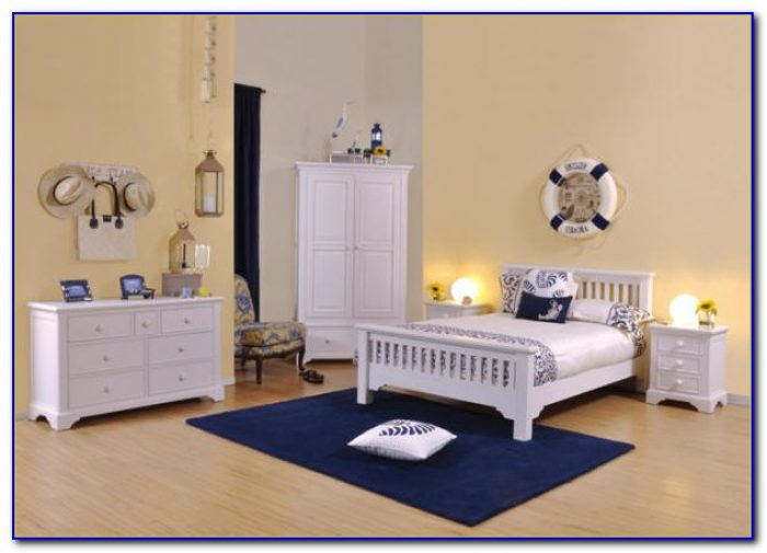 Antique White Painted Bedroom Furniture