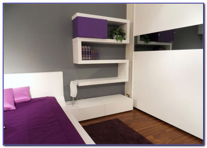 Bedroom Wall Shelving Ideas