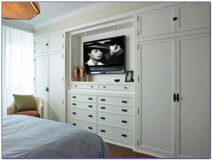 Bedroom Wall Unit Storage