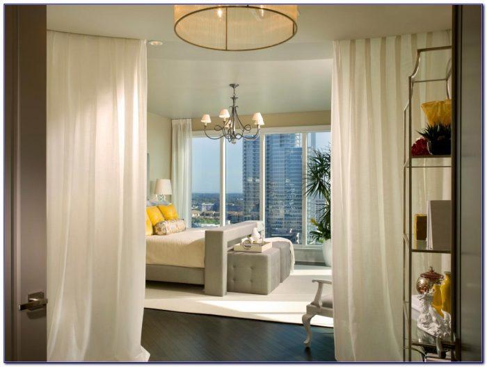 Bedroom Window Curtains Treatments