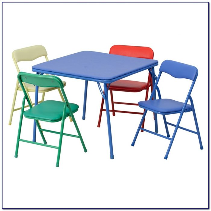 Child's Table And Chairs Tesco