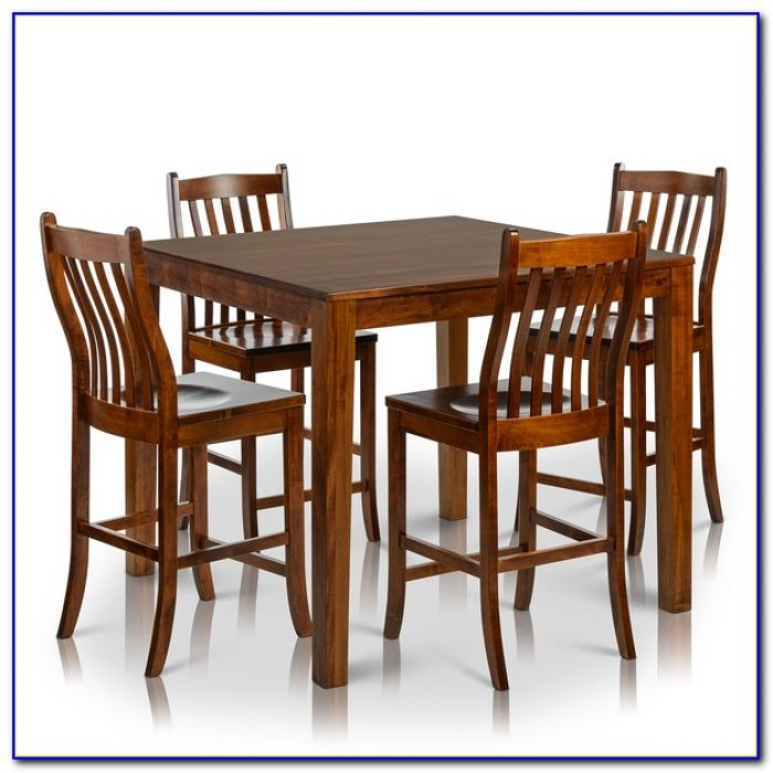 Counter Height Table And Chairs With Leaf