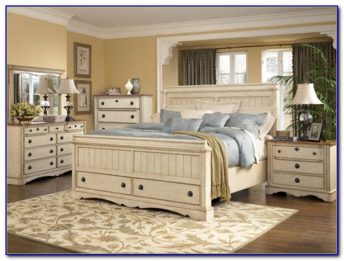 Country White Bedroom Furniture