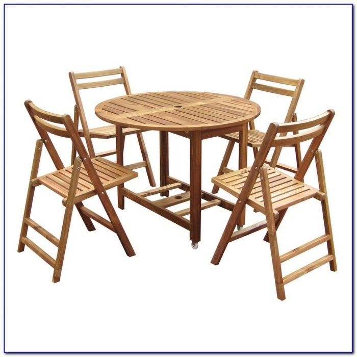Folding Table And Chairs Outdoor