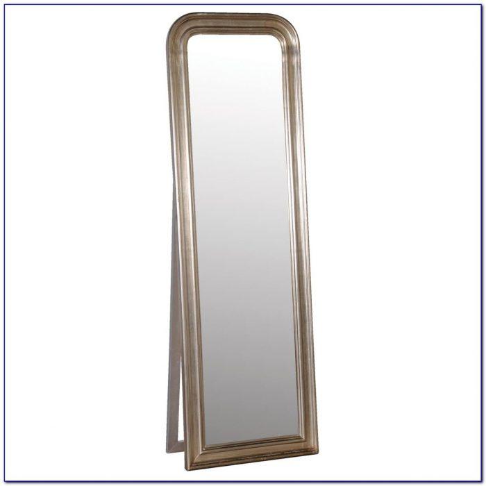 Free Standing Bedroom Floor Mirror White