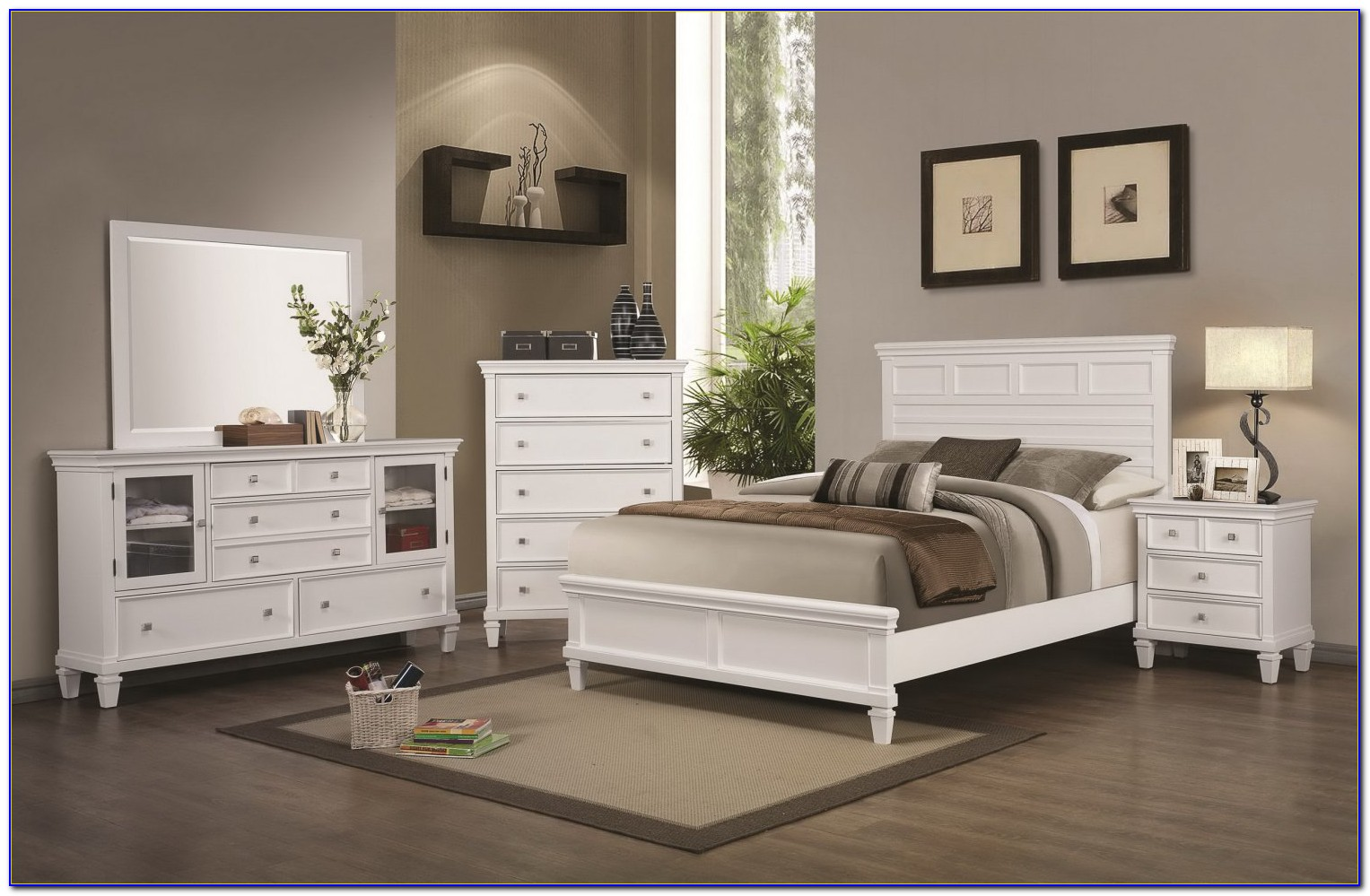 French Country White Bedroom Furniture