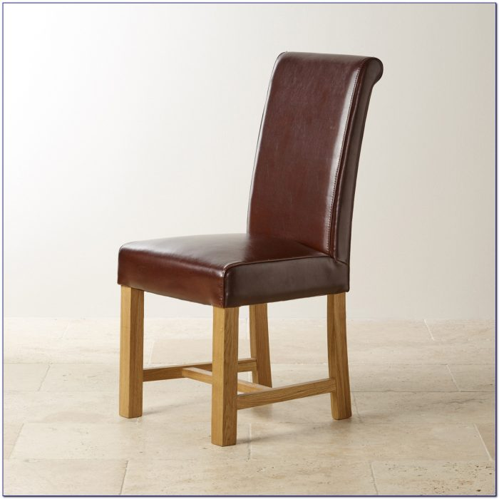 Leather Dining Room Chairs With Nailhead Trim