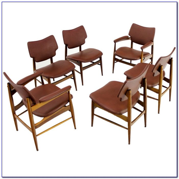 Mid Century Modern Dining Chairs Vintage