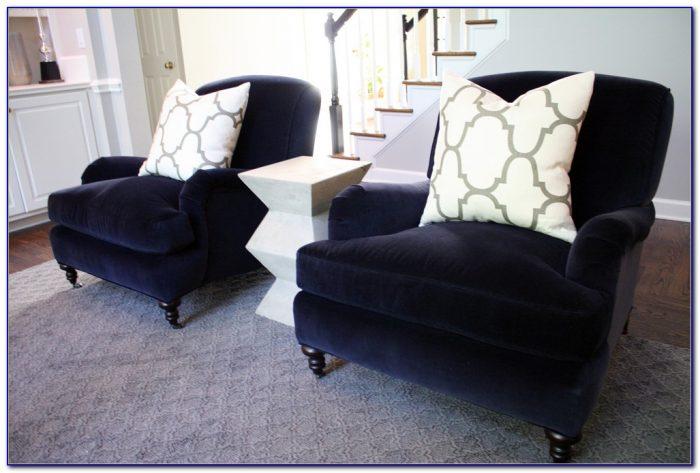 Navy Blue Velvet Dining Room Chairs