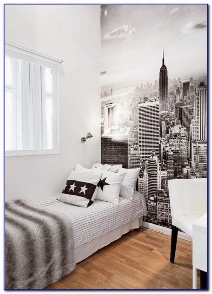 New York Scene Bedroom Wallpaper
