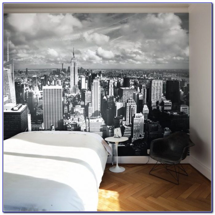 New York Wallpaper Bedroom Ideas