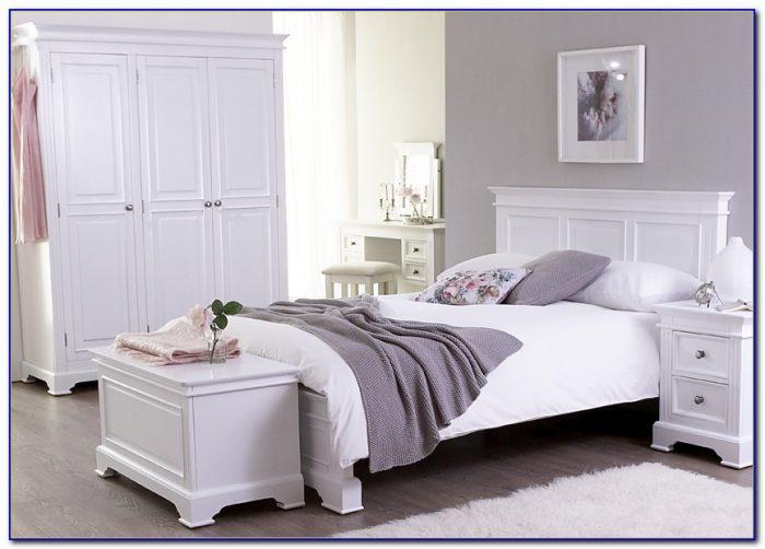 Painted White Oak Bedroom Furniture