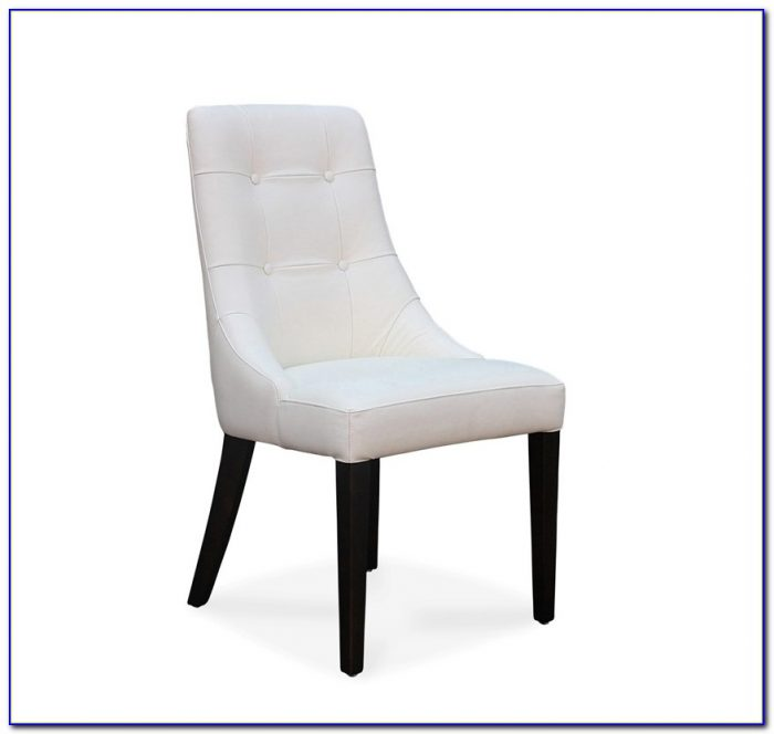 White Leather Dining Chairs Canada