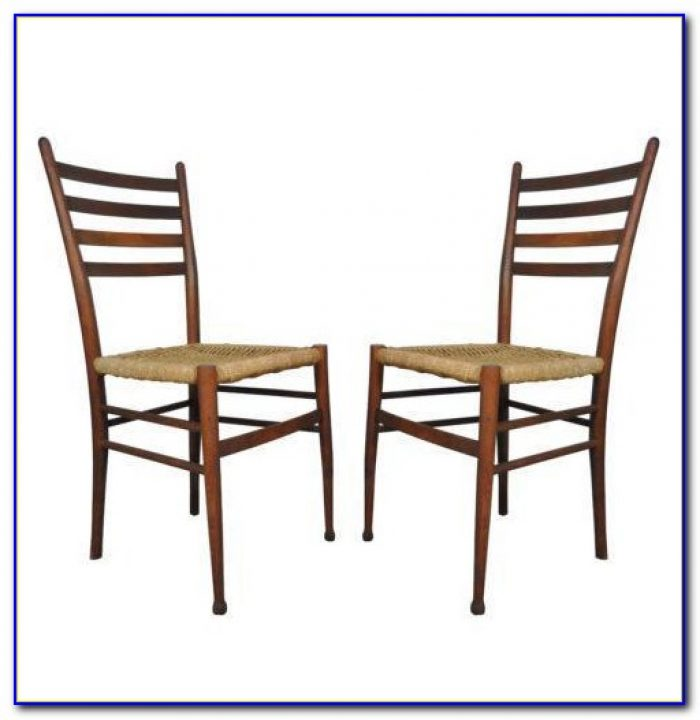 Antique Ladder Back Chairs With Arms