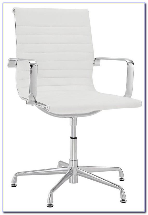 Armless Desk Chair No Wheels
