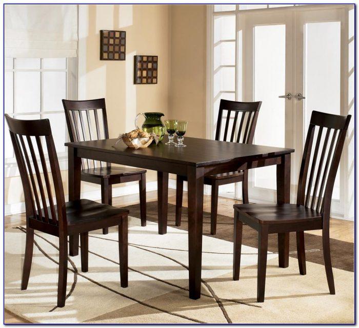 Ashley Furniture Dining Set Black