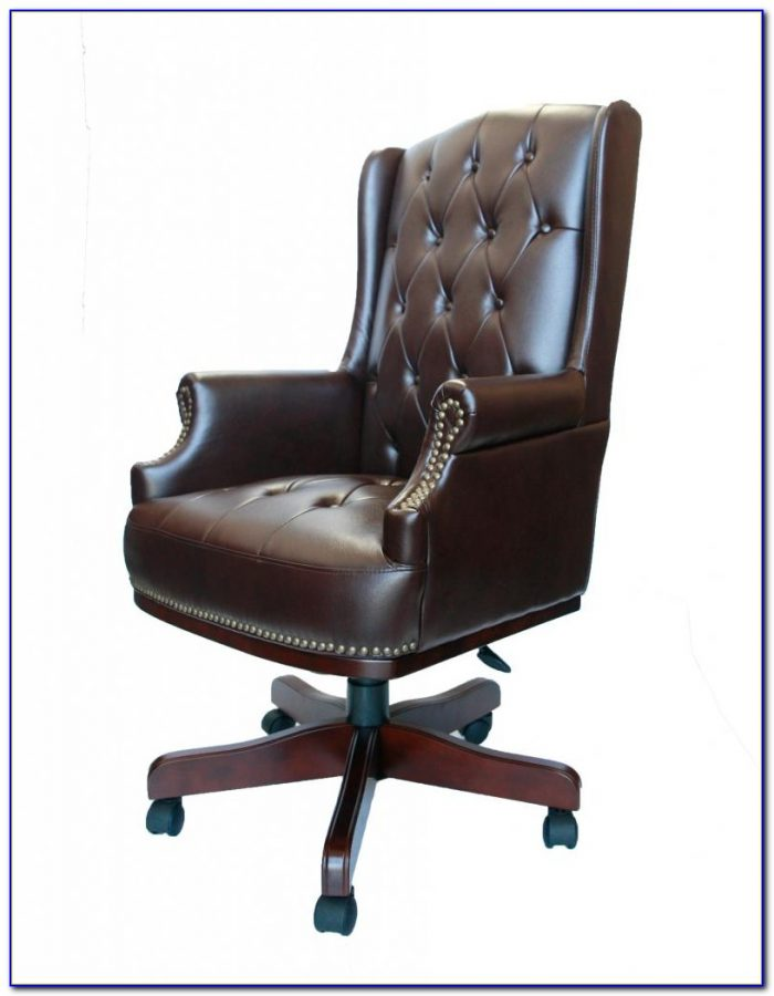 Brown Leather Office Chair John Lewis