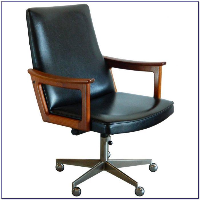 Chair Desk With Storage Bin