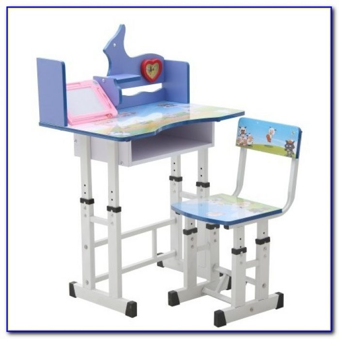 Child Desk Chair White
