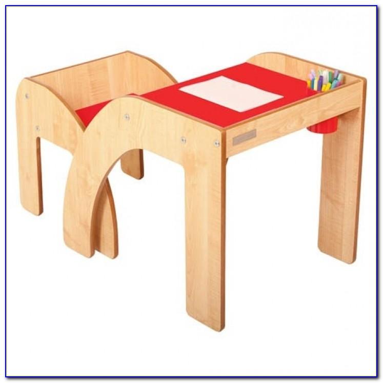 Children's Desk And Chair Set