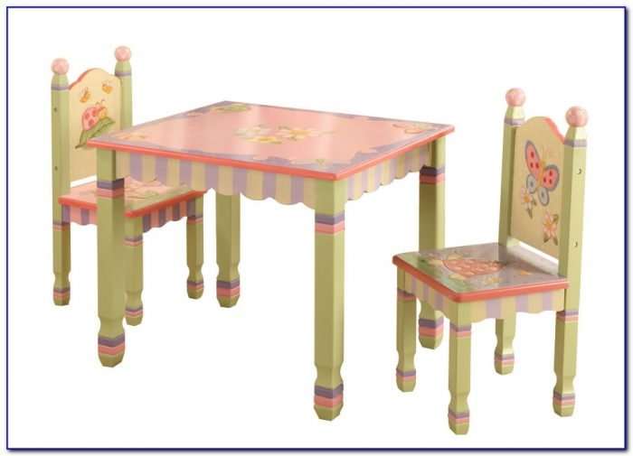 Children's Outdoor Table And Chairs Set