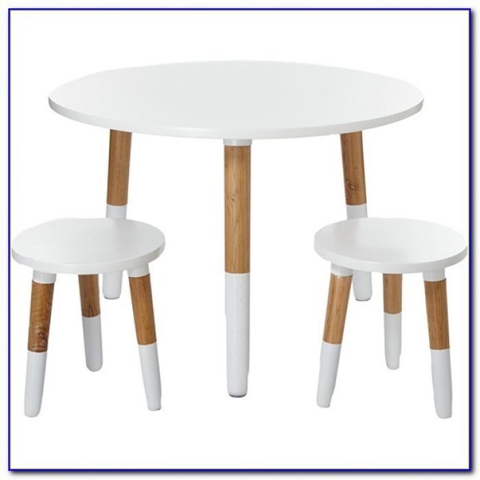 Childrens Wooden Table And Chairs White
