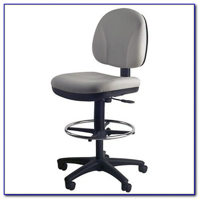 Counter Height Office Chair With Arms