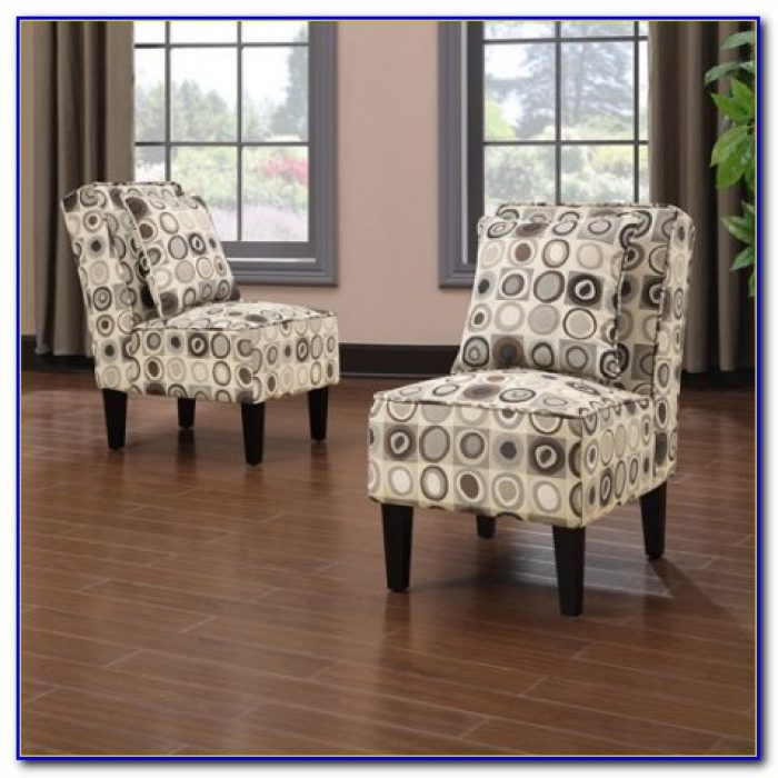 Dani Armless Accent Chair Set Of 2