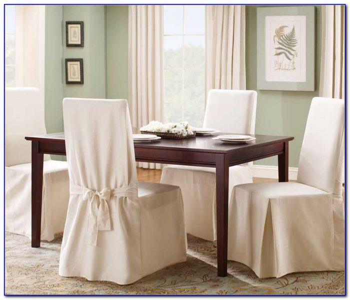 Dining Room Chair Covers White
