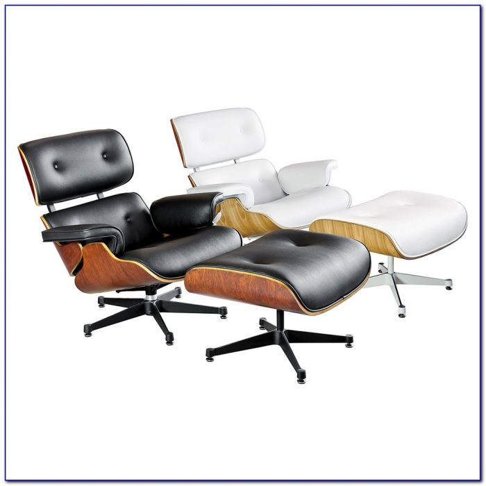 Eames Style Lounge Chair White
