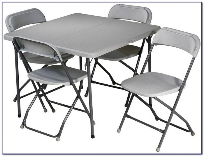 Folding Table And Chairs Set Argos